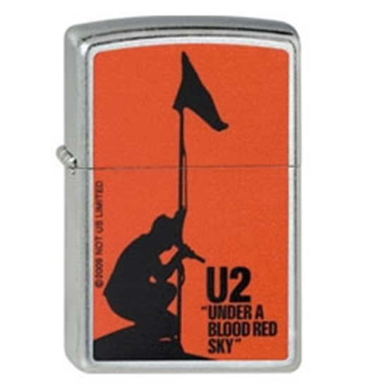 Picture of ZIPPO U2 RED 207-005389 LIGHTE