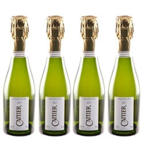 Picture of Cattier Champagne Brut (4x200 ml.)