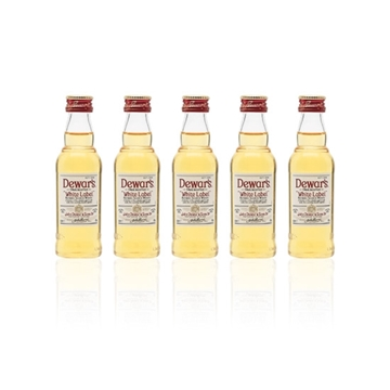 Picture of Dewars White Label Whisky Miniature (5 cl X 6)