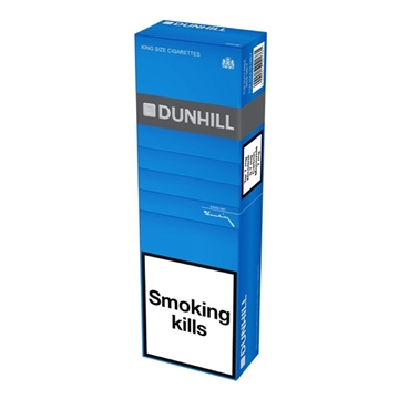 Picture of Dunhill Blue King Size Cigarettes