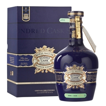 Picture of Royal Salute Hundred Cask Selection Whiskey (700 ml.) With Gift Box