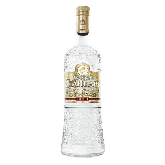 Picture of Russian Standard Vodka Gold (1L) With Gift Box