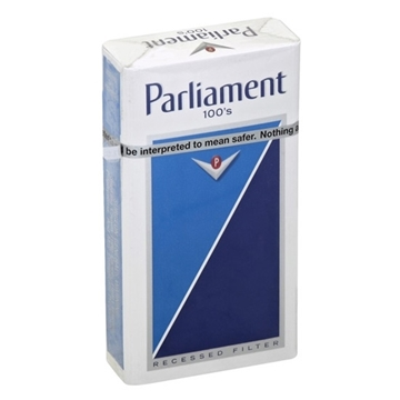 Picture of Special Price-Parliament Blue 100`s Box Cigarette