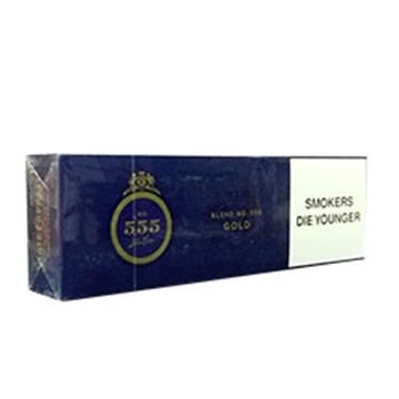 Picture of State Express King Box 555 Gold Cigarette