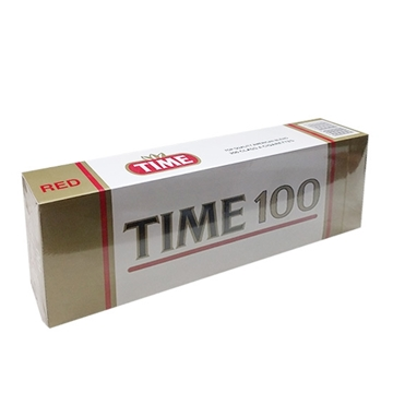 Picture of Time 100' Red Cigarettes
