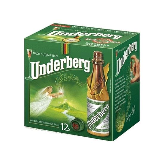 Picture of Underberg Digestif - Lot of 12 Mini Bottles (12 x 20ml.)