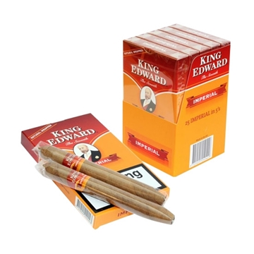 Picture of King Edward Imperial Cigars (5 Cigar Packs of 5 Cigars)