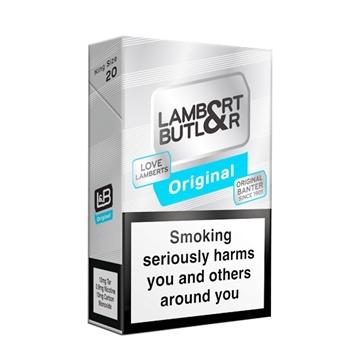 Picture of Lambert & Butler Cigarettes Carton