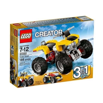 Picture of LEGO Creator turbo quad