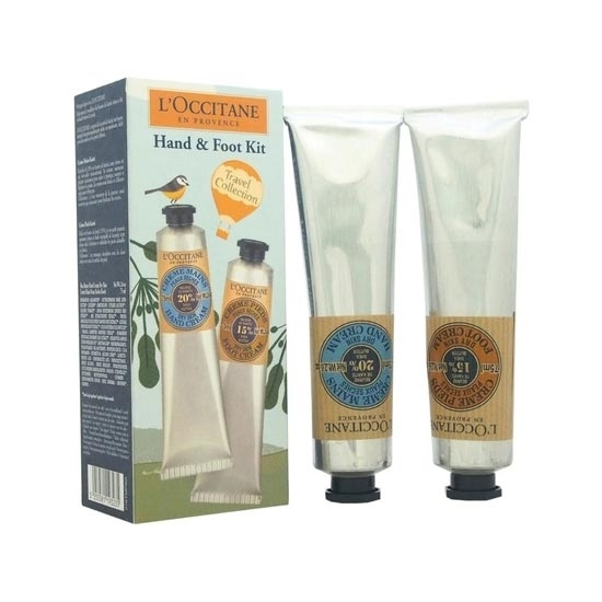 Picture of L'Occitane Hand Cream And Face Cream Set 2X(75 ml./2.5 oz.)