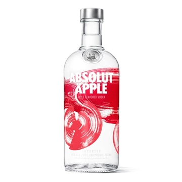 Picture of ABSOLUT APPLE 40% VODKA
