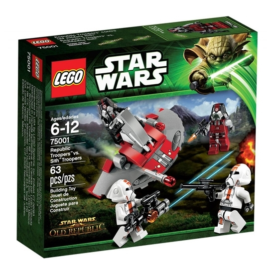 Picture of LEGO Star Wars Republic Troopers vs Sith Troopers