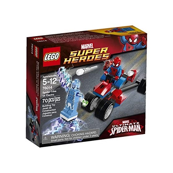 Picture of LEGO SPAIDER TRIKE VS ELECTRO