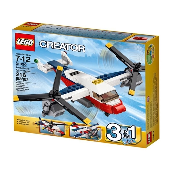 Picture of Lego Creator Twinblade Adventures
