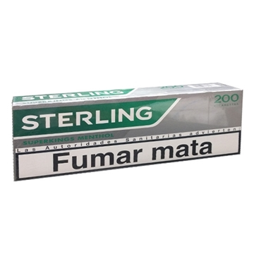Picture of STERLING SUPERKING MENTHOL CIG