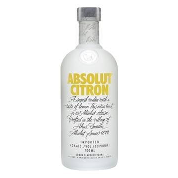 Picture of ABSOLUT CITRON 40% VODKA