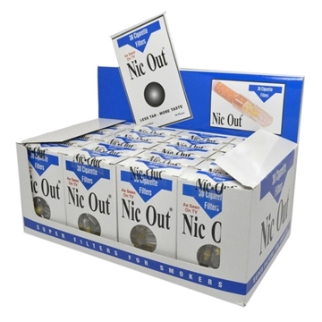 Picture of 1 Pack Of 30 Nic-Out Cigarette Filters (Super Filter-30 Pieces)