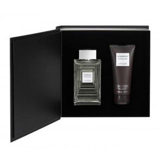 Picture of Lalique Hommage A L`Homme Eau de Parfum 125 ml, Shower Gel 150ml