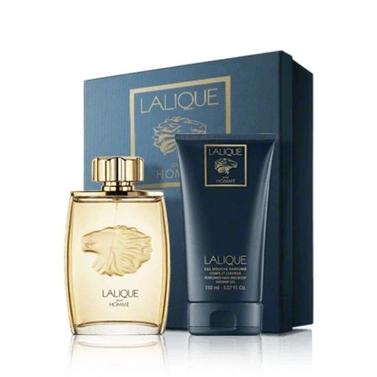 Picture of Lalique Pour Homme Lion 2013 Christmas Set (Eau de Parfum 125 ml, Shower Gel 150ml)