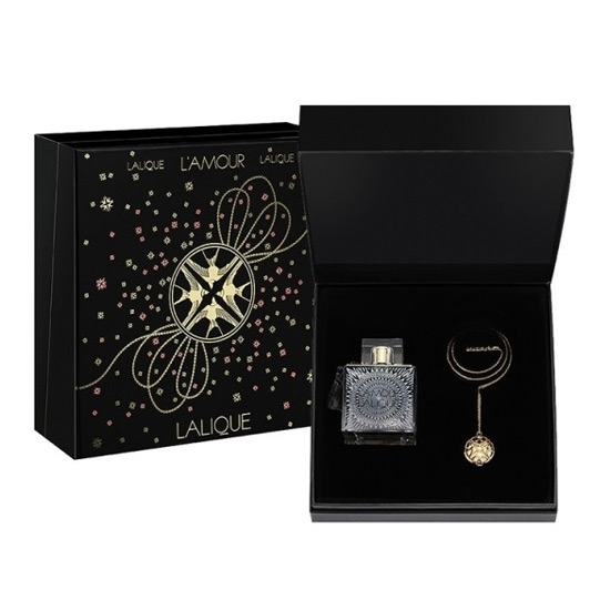Picture of Lalique Lamour 2013 Christmas Set (EDP 100ml, Necklace to be perfumed)