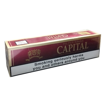 Picture of Capital Red King Size Cigarettes
