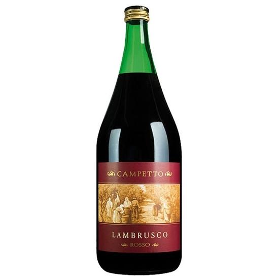 Picture of CAMPETTO LAMBRUSCO ROSSO WINE