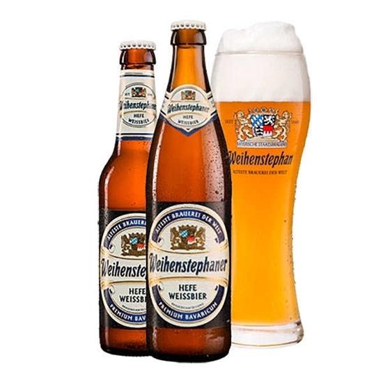 Picture of WEIHENSTEPHANER Hefeweissbier Beer Bottle  500 ml